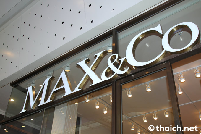 「MAX&Co.」旗艦店がセントラルワールド・Grooveにオープン