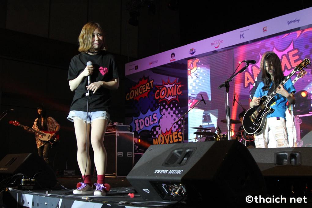 CASPA ライブ in バンコク[Thailand Comic Con 2017]