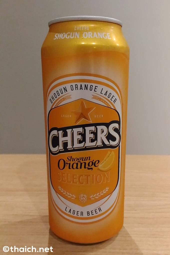 タイのビール「CHEERS」のラインナップに「将軍オレンジ」