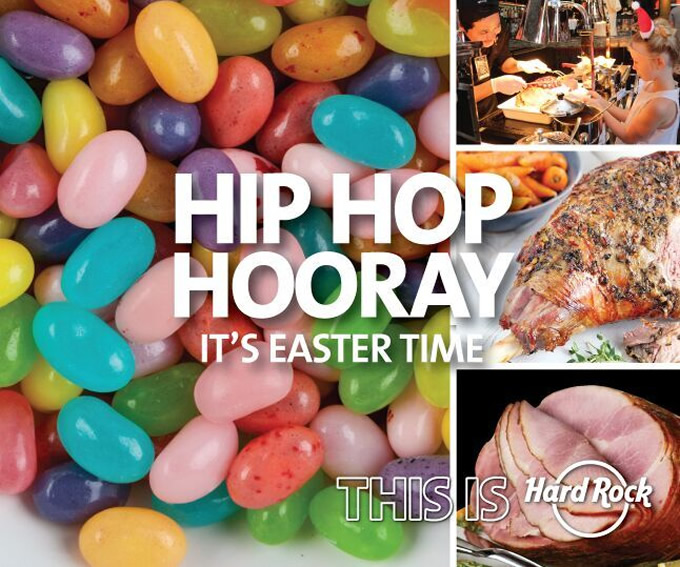 Easter Sunday Carvery at Hard Rock Café Pattaya