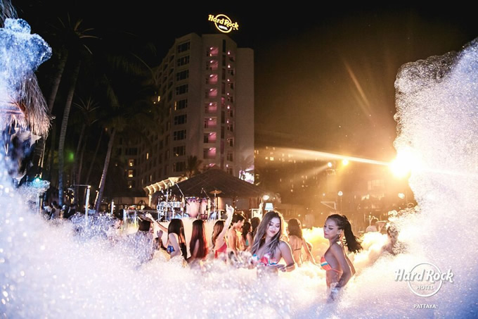 Wan Lai Songkran Pool Party at Hard Rock Pattaya