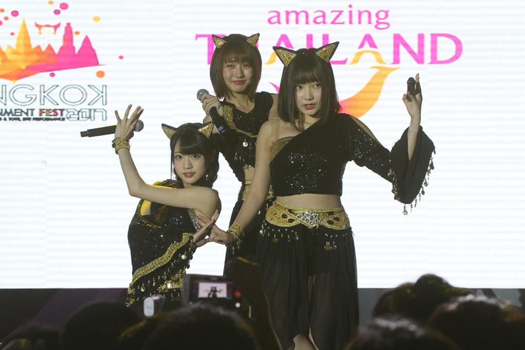 夢みるアドレセンス「Thailand Comic Con 2017」最終日のステージ