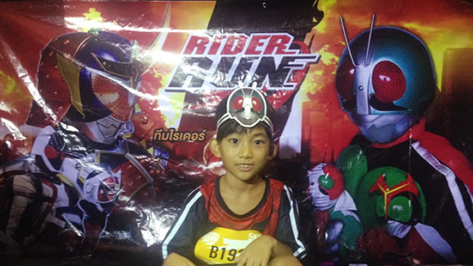 Rider Run Thailandに参加した!!-5㎞マラソンに息子と共に-