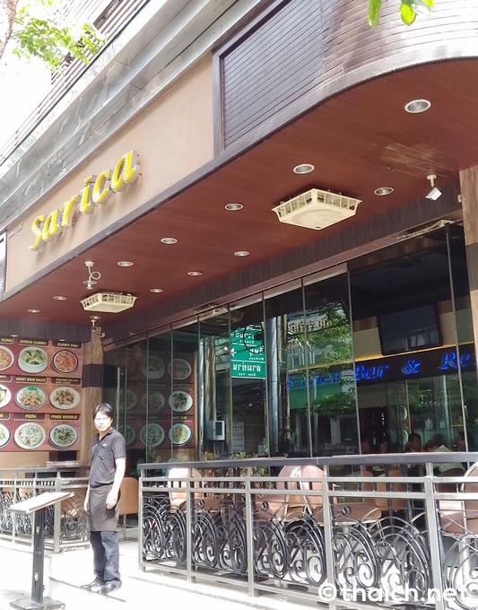 スリウォン通り「サリカ バー&レストラン」