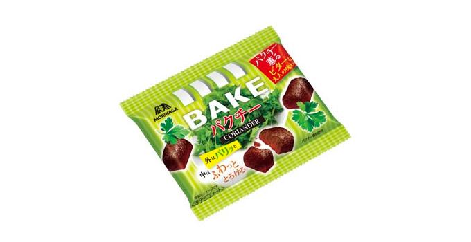 森永製菓「ベイク」より「ベイク<パクチー>」が期間限定発売