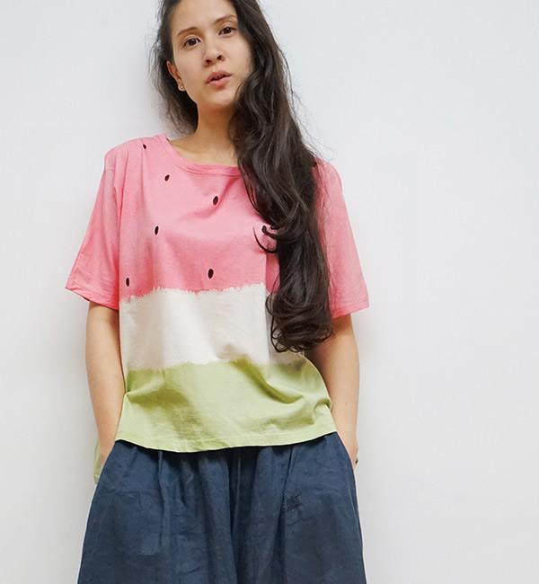 Howmanytshirtはタイ生まれのハンドメイドブランド、カラフルなフルーツTシャツが日本上陸