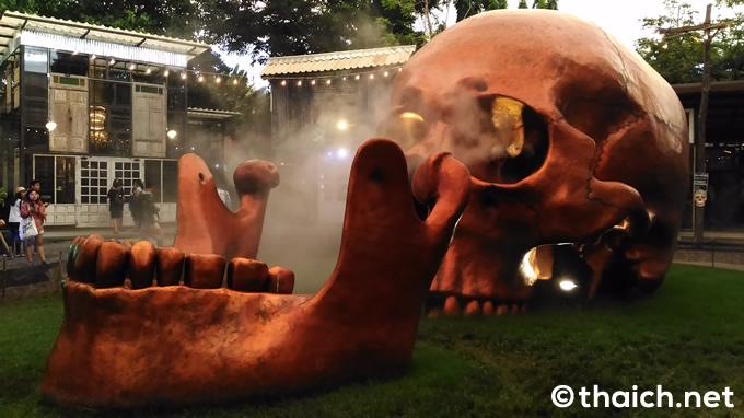 チャーンチュイ(ช่างชุ่ย ChangChui)のスカル(骸骨)オブジェ