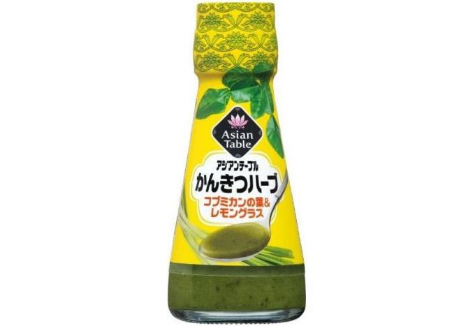 タイ風の爽やかな香りのキユーピー「かんきつハーブ コブミカンの葉&レモングラス」が通信販売