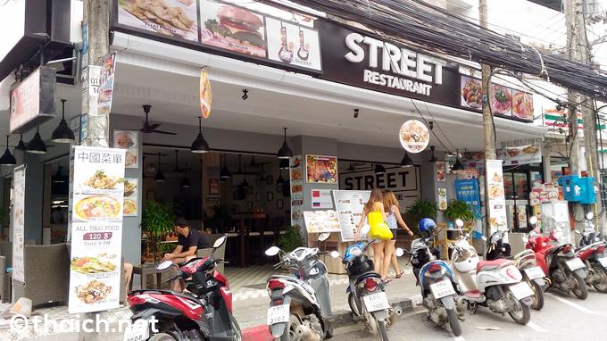 サムイ島・チャウエンビーチ通り「STREET RESTAURANT」