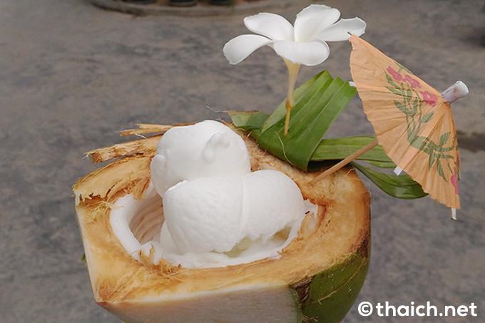 ココナッツアイランド・サムイ島のアイスクリーム