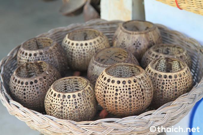 ココナッツアイランド・サムイ島のココナッツ製品
