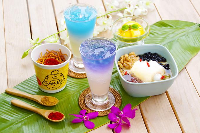 タイの神秘の青いお茶を「横浜博覧館の夏祭り~スイーツフェスタ2017~」で
