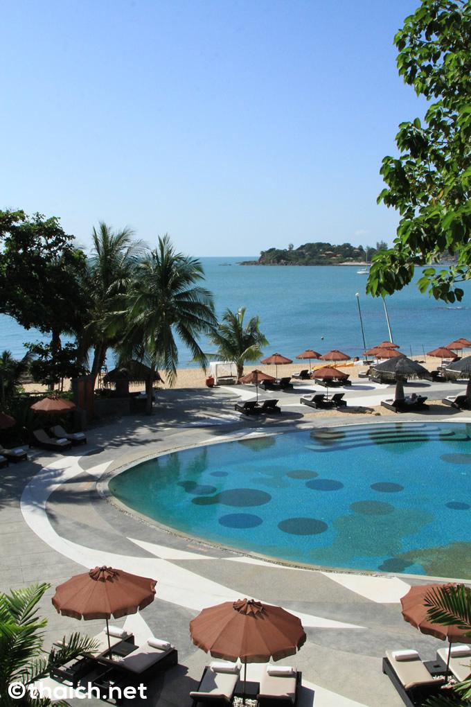 サムイ島「ザ・トンサイベイ」のビーチとプール