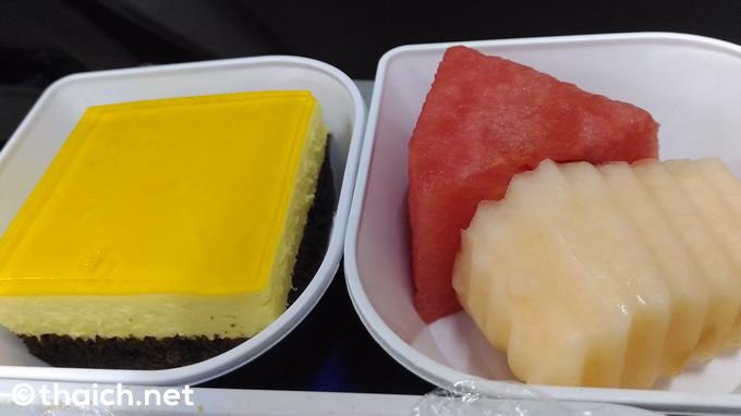バンコクエアウェイズ 機内食