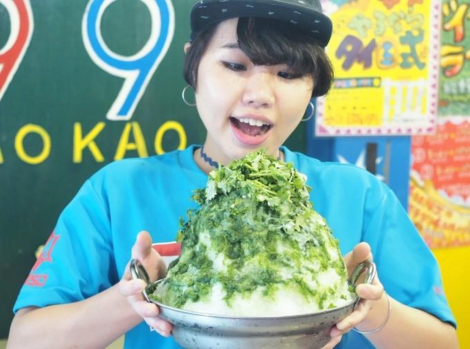 総重量1.5キロの巨大パクチーかき氷「パクチーかき氷鍋」が「タイ屋台999 中野本店」で開始