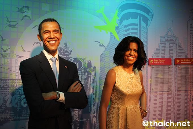 バラク・オバマ 前アメリカ大統領夫妻