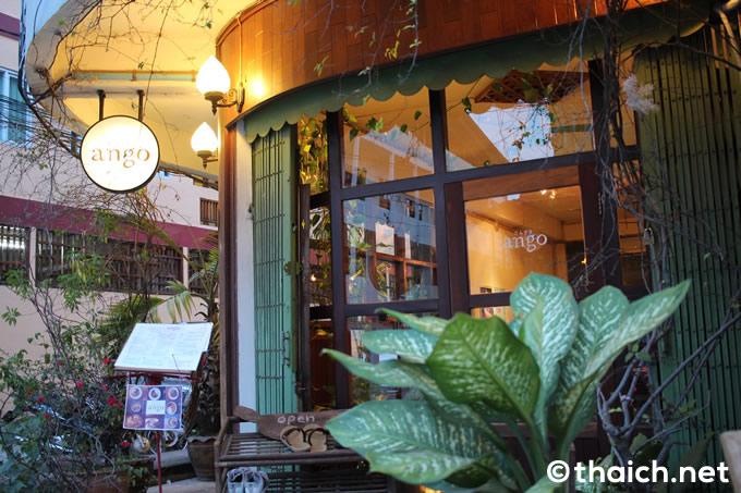 長閑な町の長閑なカフェ~CAFÉ ango[ラオス・ビエンチャン]