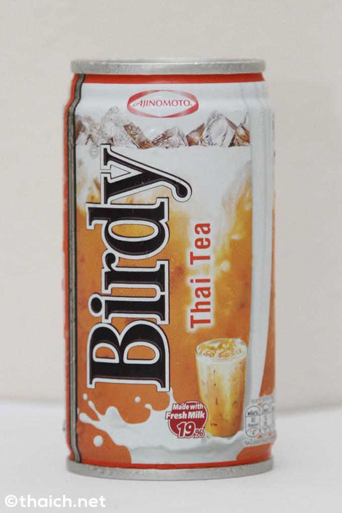 タイNo.1缶コーヒーブランド「Birdy」からタイ紅茶が発売された!