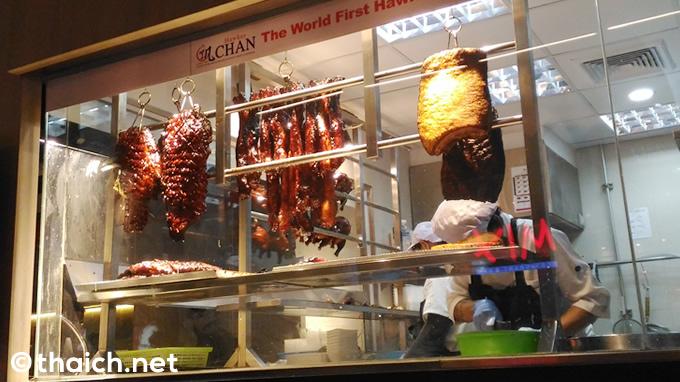ホーカーチャン(Hawker CHAN,香港油鶏飯・面)