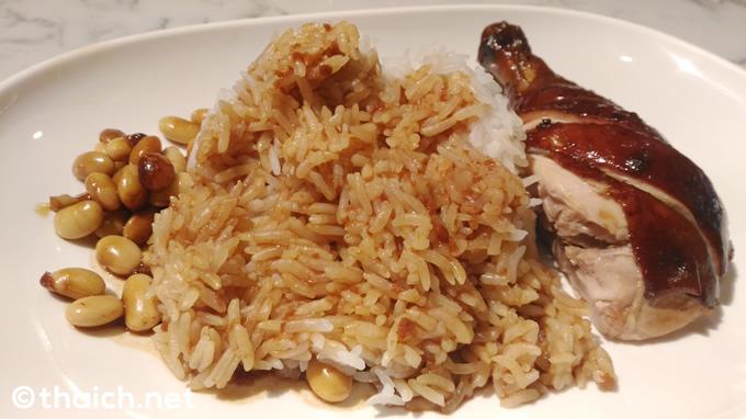 ホーカーチャン(Hawker CHAN,香港油鶏飯・面)の「油鶏飯」
