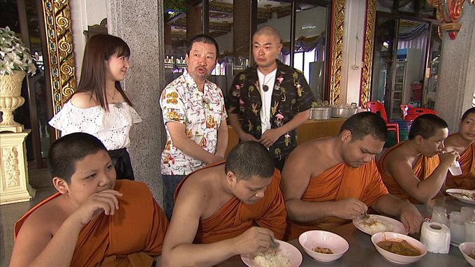キム兄が「絶品タイ風冷や汁」でメタボ僧侶を救う!TBS系「世界で勝手におせっかいinタイ」