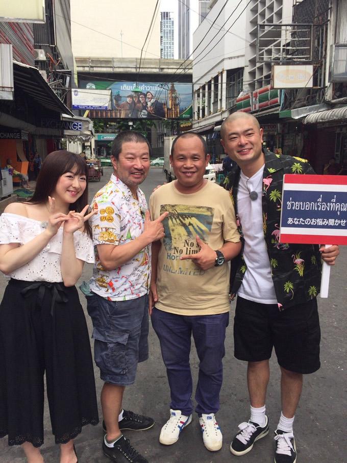 BNK48伊豆田莉奈も登場!TBS系「世界で勝手におせっかいinタイ」が2017年9月18日午前に放送