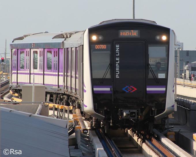 MRTパープルラインが値上げ、2017年11月より