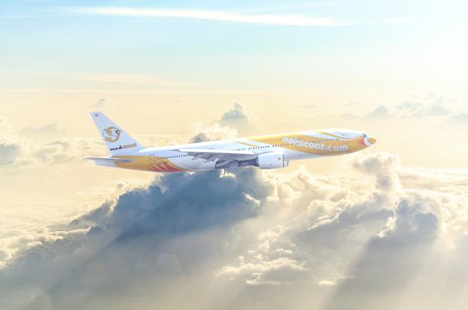 ノックスクートがバンコク=成田間でチャーター便を運行、2017年12月02日から2018年1月4日