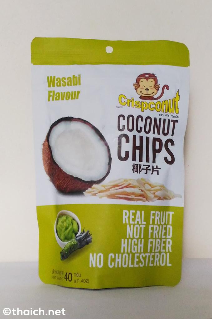 ワサビ風味のココナッツチップスが思った以上に美味しい!