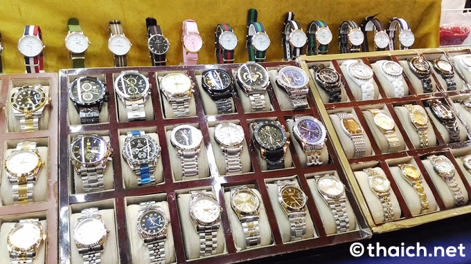 タイでは今でもブランド品やDVDなどのコピー製品は売っていますか?