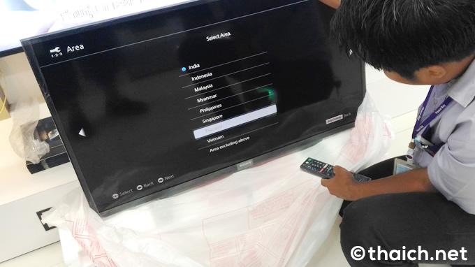 タイで家電を買ったら動作チェックのサービスは当たり前