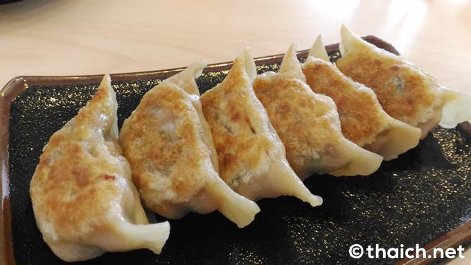 つけ麺 城:タイ東部シーラチャで「スタミナ餃子」