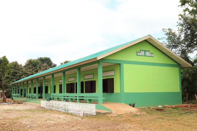2017年11月に開講式を行なった新設校舎