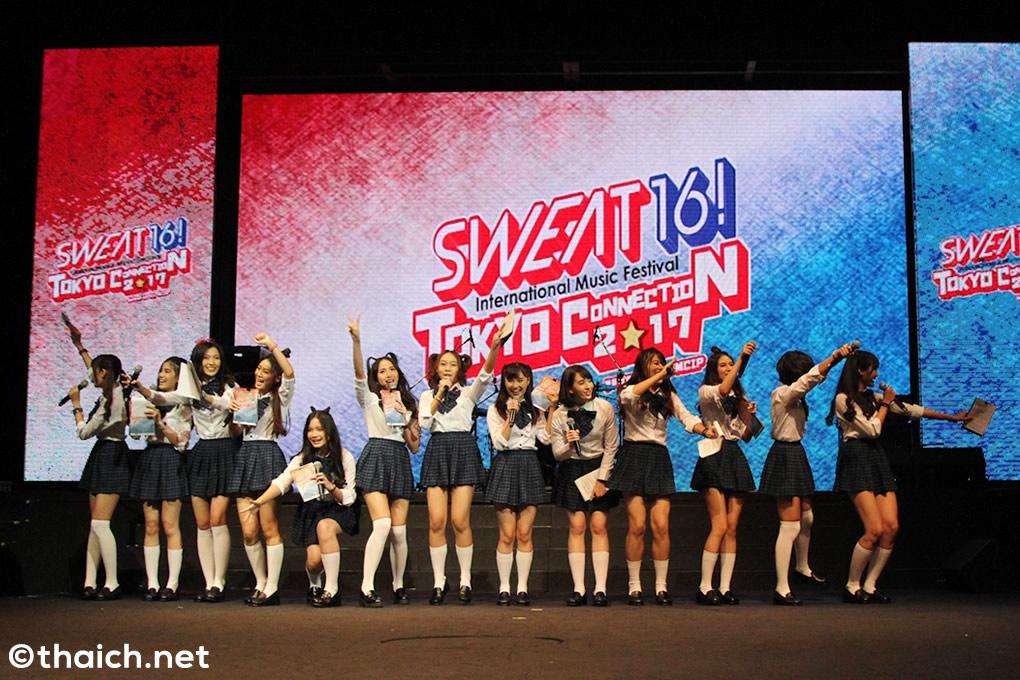 SWEAT16!がタイ・バンコクでOver The Top、fumika、マンモスターとコラボ