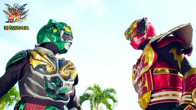MIRAIGAR T1 と沖縄のローカルヒーロー琉神マブヤー