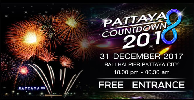 PATTAYA COUNTDOWN 2018