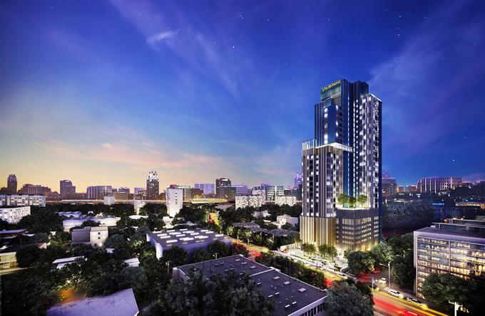 インターコンチネンタルブランドのサービスアパート「Staybridge Suites Bangkok Thonglor」が2019年竣工へ