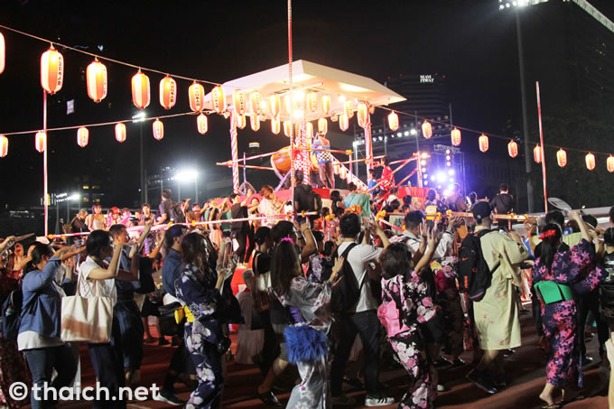 バンコクの盆踊り大会が大盛況!参加者1万人!