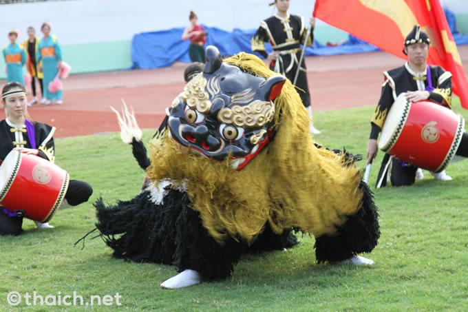 琉球舞團 昇龍祭太鼓タイ支部