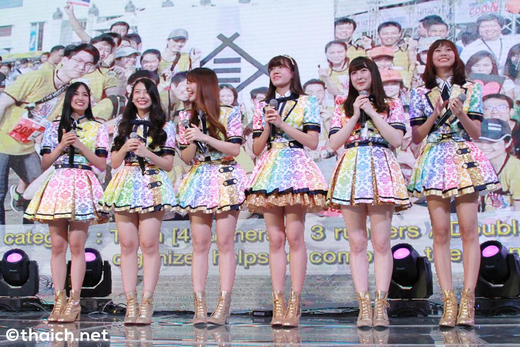 BNK48が「クルンシィ・アユタヤ『絆』駅伝 2018」の開催をPR[Japan Expo Thailand 2018]