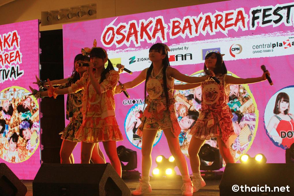 たこやきレインボーがバンコクでライブ披露!「大阪ベイエリアフェスティバル2018」