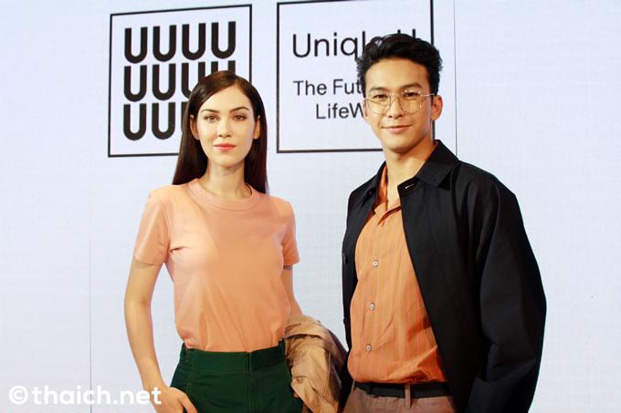 メット・ピーラニーがファッションショーに登場、Uniqlo U 2018年春夏コレクションがローンチ