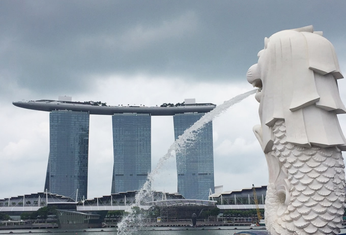タイとシンガポールのタクシー比較