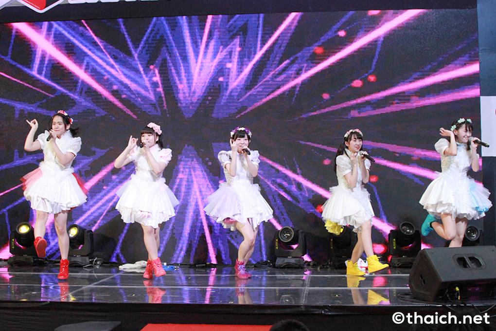 北海道からやってきたミルクス本物が「Japan Expo Thailand」に登場