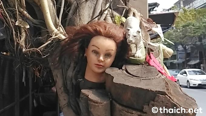 バンコクの怪奇~生首の祀られた木
