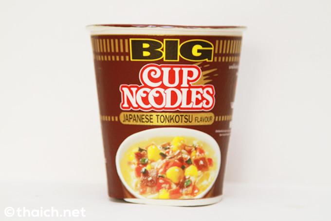 「カップヌードル ビッグ」のジャパニーズとんこつ味が新発売