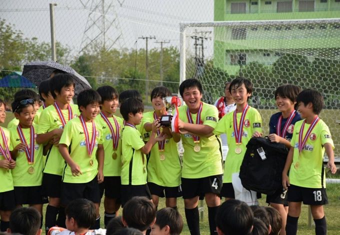 快進撃を続けるジラクレールが、セレッソ大阪サッカースクールバンコク校へ