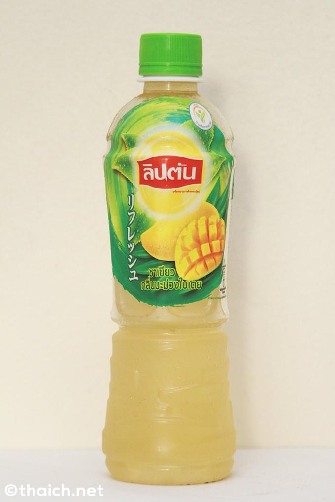 リプトンからマンゴー緑茶が新発売