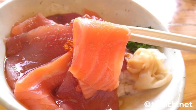 「サーモンツナ丼」(280バーツ)