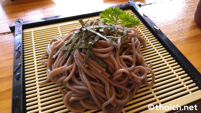 「ざる蕎麦セット」(180バーツ)